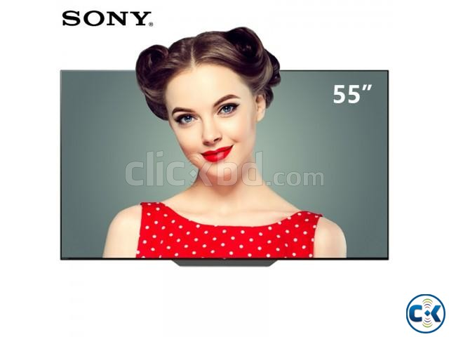 Sony OLED 55 4K Acoustic Android TV A8F | ClickBD large image 1