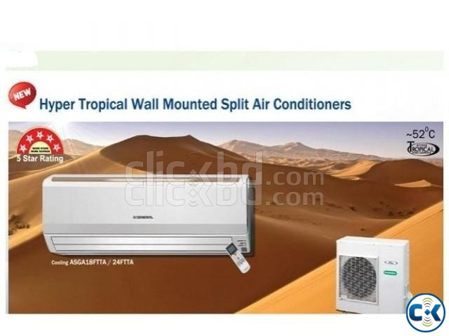 Tropical General 2.5 Ton Air Conditioner AC in Bd. | ClickBD large image 0