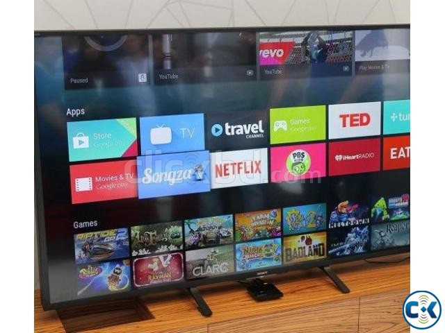 75inch x7000e HDR 4k Android Smart LED Sony TV | ClickBD large image 3