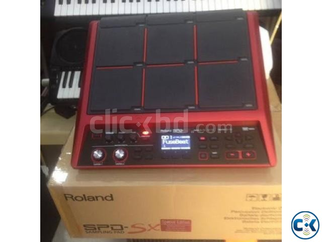 Roland spd-sx SE Red Intect call-01748-153560 | ClickBD large image 1