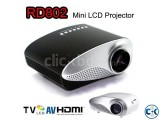 PHILIPS Mini LED Projector With TV Port NEW