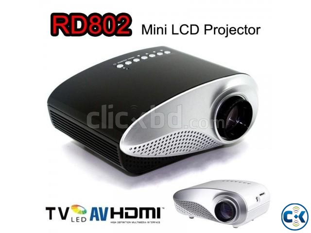 PHILIPS Mini LED Projector With TV Port NEW | ClickBD large image 0