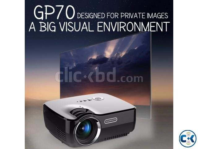 Vivibright GP70 Mini Projector 3D Projector HD Projector NEW | ClickBD large image 0