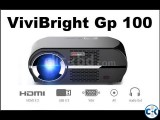 Vivibright GP100 Multimedia Projector 3D HD Projector NEW