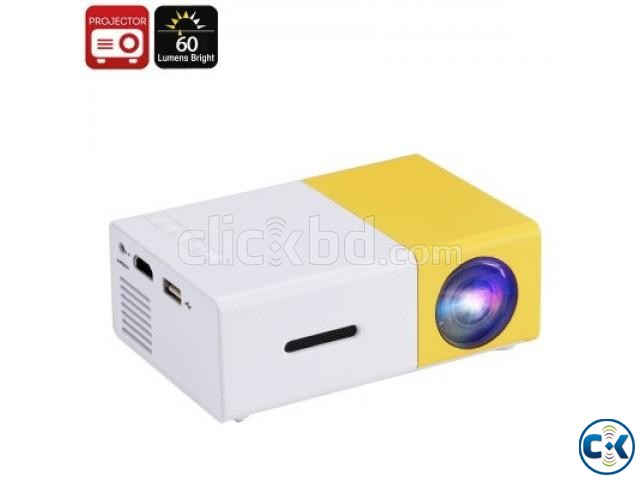 YG-300 LCD LED Projector 400-600 Lumens NEW | ClickBD large image 0