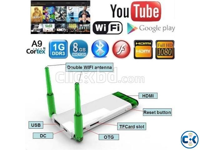 CLOUD STICK ANDROID 4.4 SMART TV DONGLE 1080p HD MEDIA NEW | ClickBD large image 0