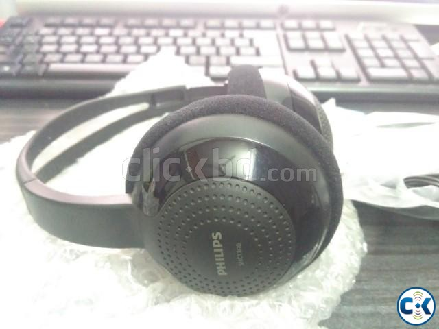 PHILIPS SHC-1300 Wireless Infrared Transmission Headphones | ClickBD large image 0