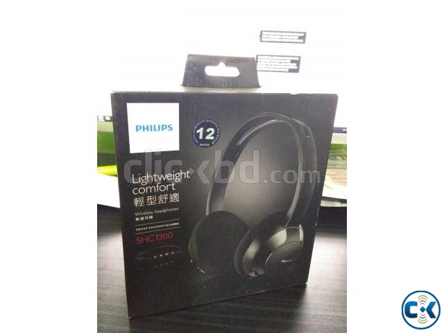 PHILIPS SHC-1300 Wireless Infrared Transmission Headphones | ClickBD large image 2