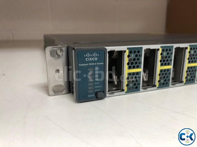 CISCO CATALYST WS-C3560E-12D-E SWITCH L3 MANAGED 12 | ClickBD large image 1