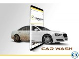 Car wash services at your doorstep in Dhaka.