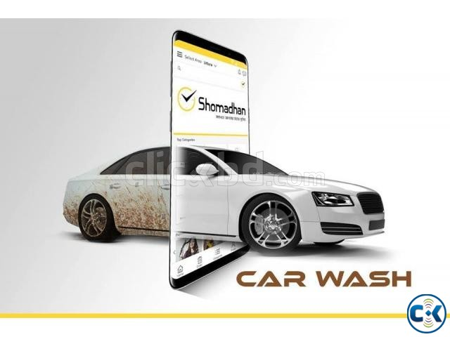 Car wash services at your doorstep in Dhaka. | ClickBD large image 0