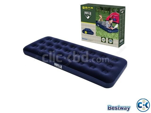Bestway Single Air Bed With Free Air Pumper | ClickBD large image 0