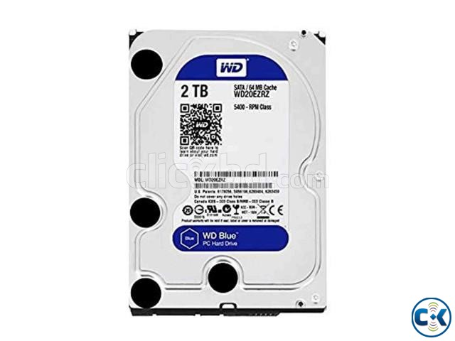 Western Digital 2TB Blue Desktop HDD | ClickBD large image 0
