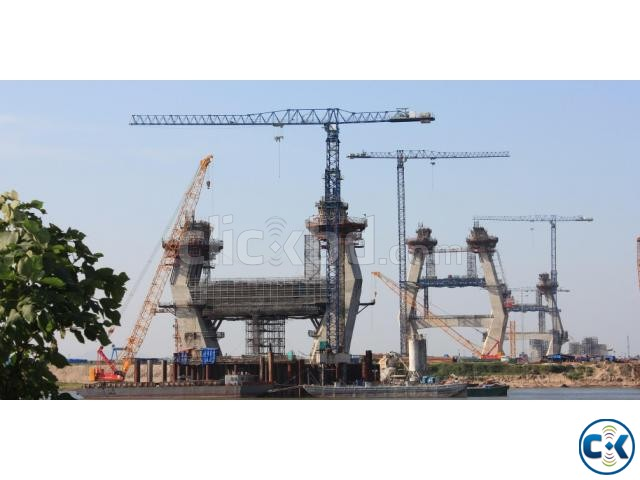 Linden Comansa Tower Crane explore cooperation in BD | ClickBD large image 0
