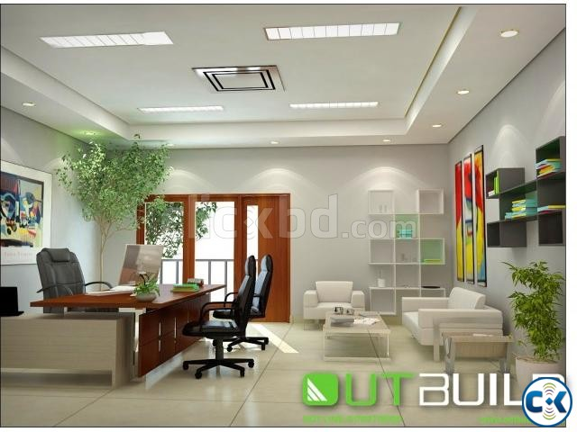 House Design bd Office interior Design in Dhaka | ClickBD large image 0