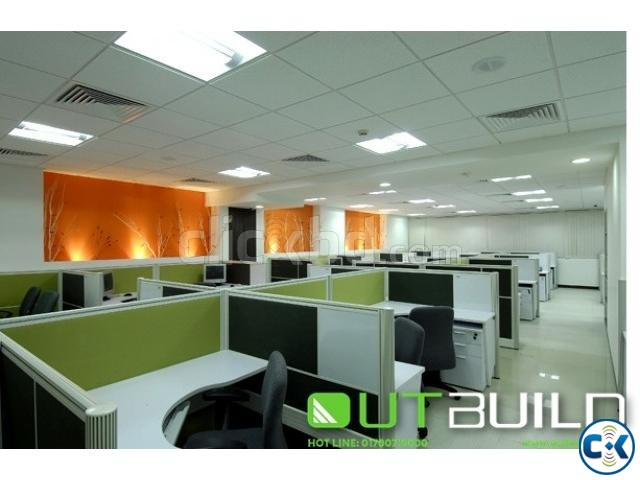 House Design bd Office interior Design in Dhaka | ClickBD large image 2