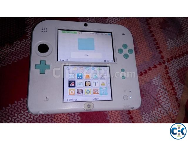 Nintendo 2DS - Moded plus 32 GB | ClickBD large image 0
