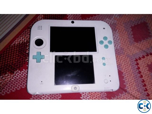 Nintendo 2DS - Moded plus 32 GB | ClickBD large image 1