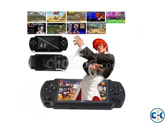 PSP X6 Game Player With 10000 Games 8GB New  | ClickBD large image 1