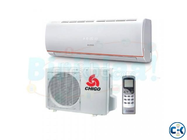 chigo 1ton air conditioner offer price | ClickBD large image 0