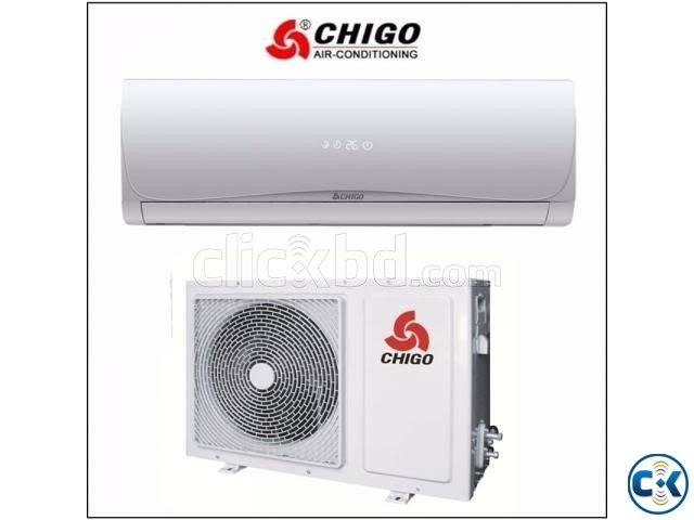 chigo 1ton air conditioner offer price | ClickBD large image 1