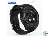 V8 Smart Watch Clock With Sim TF Card Slot Bluetooth Smartwa