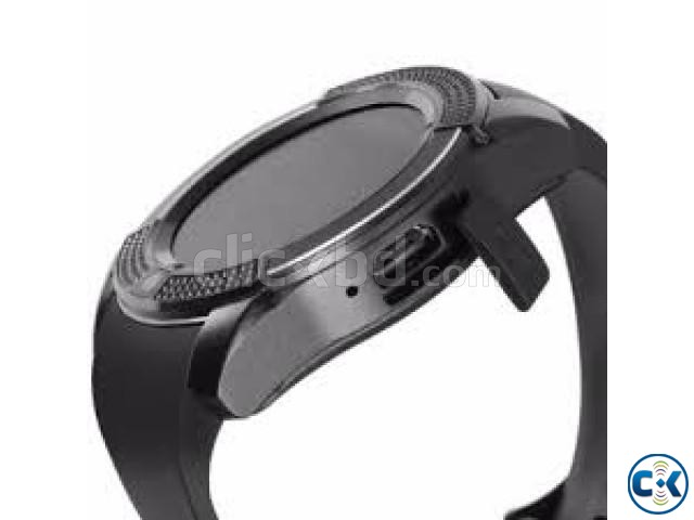V8 Smart Watch Clock With Sim TF Card Slot Bluetooth Smartwa | ClickBD large image 2