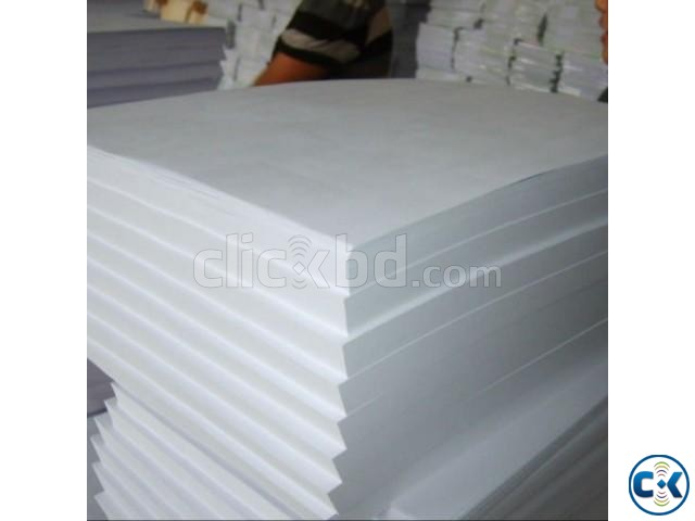 Highest Grade A Super White 70 80 GSM Double A A4 Paper Copy | ClickBD large image 1