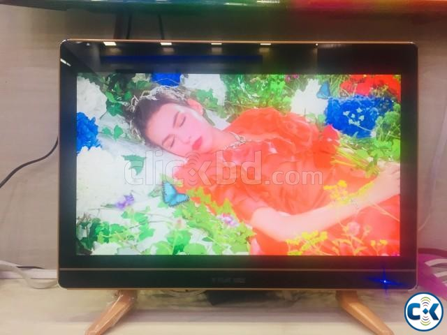 PILOT VIEW 20 DOUBLE GLASS LED TV | ClickBD large image 0