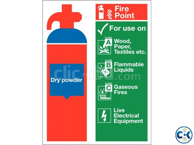 Fire Extinguisher ABC Dry Powder 5 KG | ClickBD large image 1