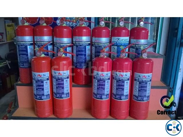 Fire Extinguisher ABC Dry Powder 5 KG | ClickBD large image 4