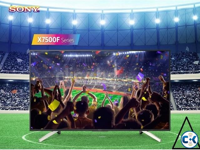 Sony Bravia X7500F 49 4K Android HDR TV Price In Bd. | ClickBD large image 1