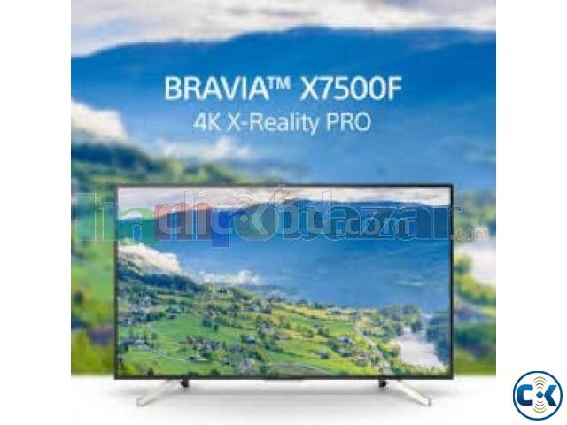 Sony Bravia X7500F 49 4K Android HDR TV Price In Bd. | ClickBD large image 2
