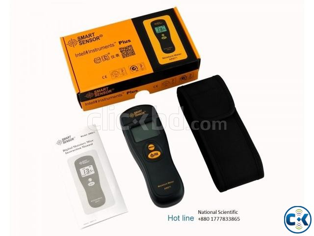Wood Moisture Meter Digital timber Smart Sensor Bangladesh | ClickBD large image 1
