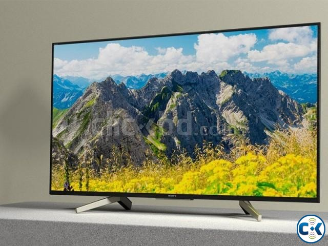 SONY BRAVIA 49X7500F 4K HDR ANDROID TV LOWEST PRICE IN BD | ClickBD large image 1