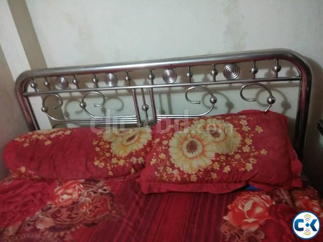 Double Bed Steel  | ClickBD large image 1