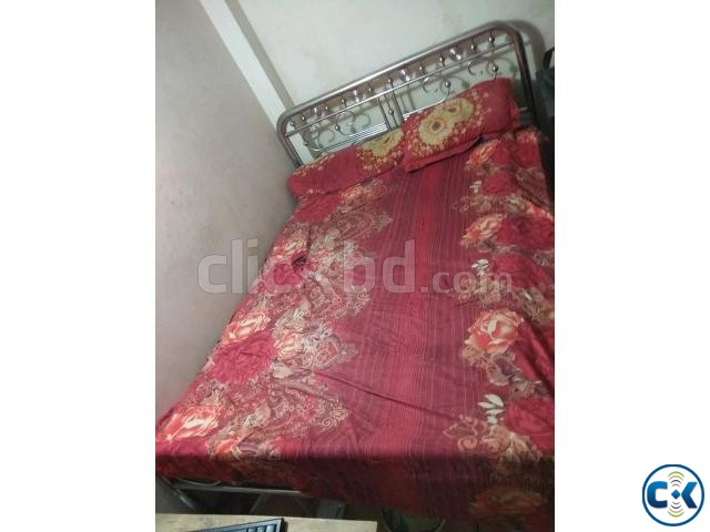 Double Bed Steel  | ClickBD large image 2