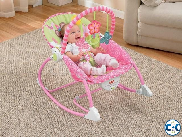 UInfant-To-Toddler Rocker Baby Rocking Chair  | ClickBD large image 0