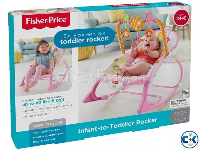 UInfant-To-Toddler Rocker Baby Rocking Chair  | ClickBD large image 1