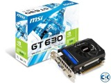 MSI GEFORCE GT 630 2GB