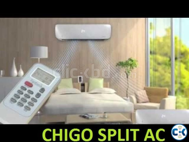 Air Conditioner Chigo 1.5 Ton AC Led Display Full 18000 BTU | ClickBD large image 1