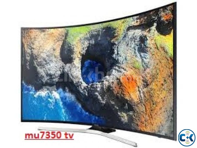 55 Inch Samsung MU7350 Curved UHD 4K TV 7 SeriesTelevision | ClickBD large image 0