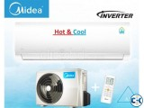 Midea Hot And Cool Inverter 1.5 Ton Split AC Brand New