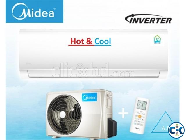 Midea Hot And Cool Inverter 1.5 Ton Split AC Brand New | ClickBD large image 0
