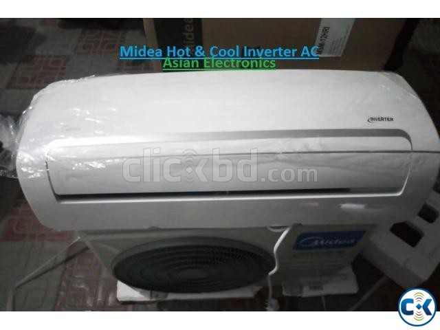 Midea Hot And Cool Inverter 1.5 Ton Split AC Brand New | ClickBD large image 2