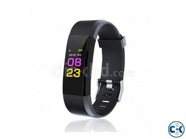 115 PLUS Smart Bracelet Heart Rate Monitor Blood Pressure | ClickBD large image 2
