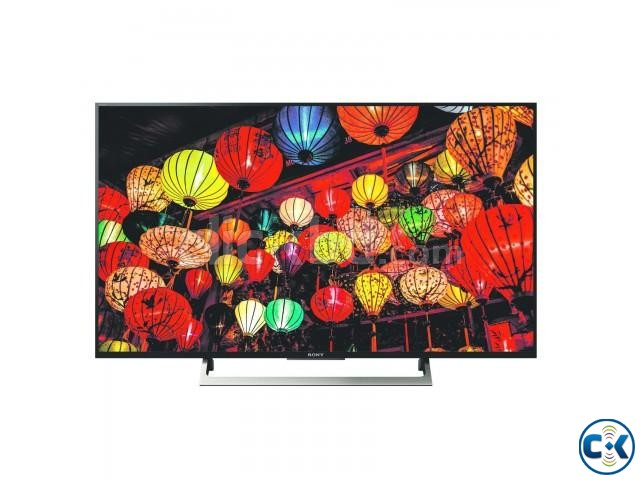 Sony 43 Inch 4K Ultra HD X8000E TRILUMINOS Android TV | ClickBD large image 1