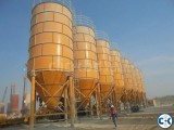 Cement silos 300T capacity