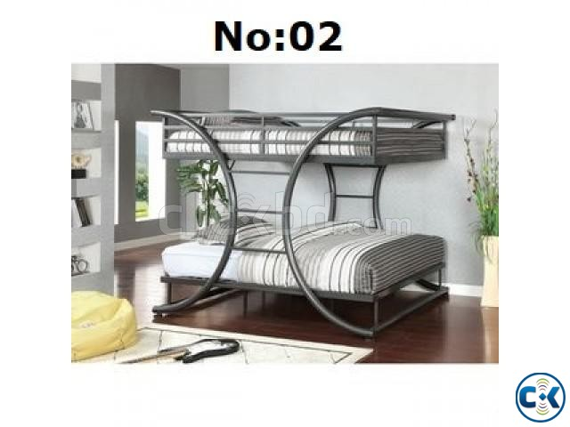 Twin Over Full Metal Bunk Bed 034 Clickbd