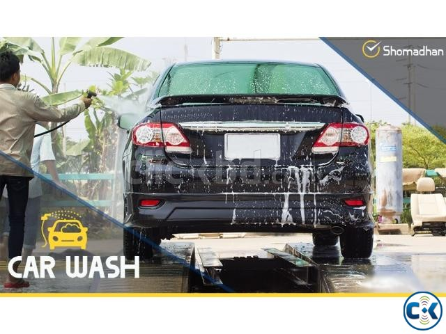 Car Cleaning Service - Shomadhan | ClickBD large image 0